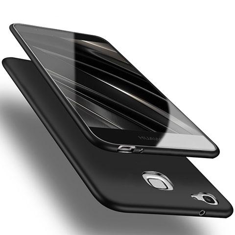 Huawei P8 Lite Smart用極薄ソフトケース シリコンケース 耐衝撃 全面保護 ファーウェイ ブラック