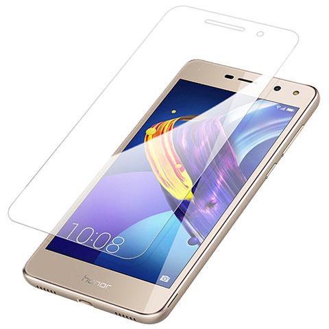 Huawei Y6 (2017)用強化ガラス 液晶保護フィルム T01 ファーウェイ クリア