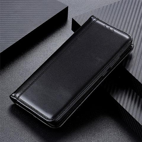 Oppo Reno3 A用手帳型 レザーケース スタンド カバー L01 Oppo ブラック