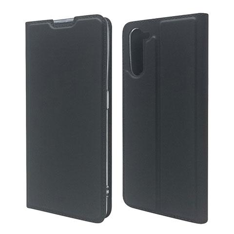Oppo Reno3 A用手帳型 レザーケース スタンド カバー L09 Oppo ブラック