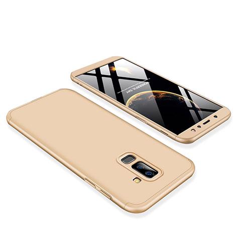 Samsung Galaxy A9 Star Lite用ハードケース プラスチック 質感もマット 前面と背面 360度 フルカバー サムスン ゴールド
