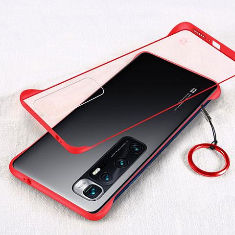 Xiaomi Mi 10 Ultra用ハードカバー クリスタル クリア透明 H01 Xiaomi レッド