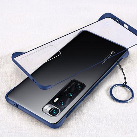 Xiaomi Mi 10 Ultra用ハードカバー クリスタル クリア透明 H01 Xiaomi ネイビー