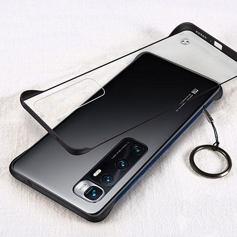 Xiaomi Mi 10 Ultra用ハードカバー クリスタル クリア透明 H01 Xiaomi ブラック