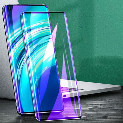 Xiaomi Mi 10 Ultra用強化ガラス フル液晶保護フィルム アンチグレア ブルーライト Xiaomi ブラック