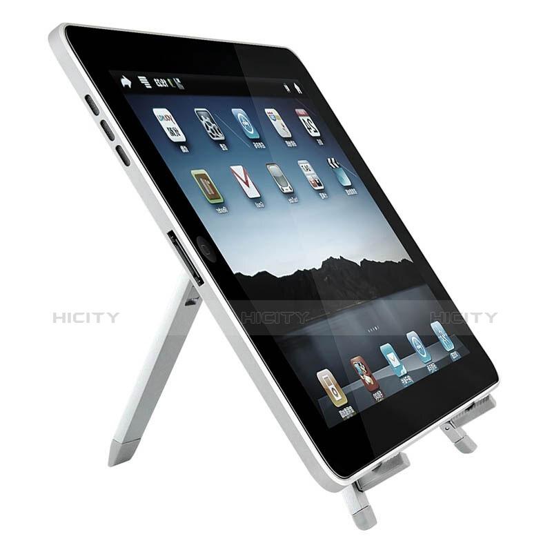 Apple iPad 2用スタンドタイプのタブレット ホルダー ユニバーサル アップル シルバー