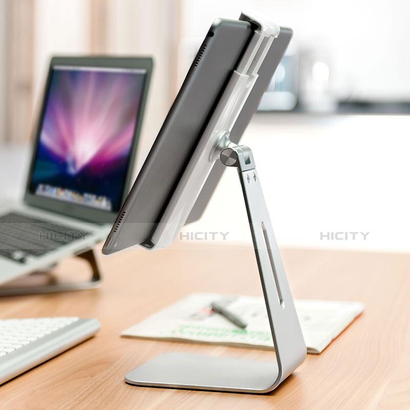 Apple iPad 2用スタンドタイプのタブレット ホルダー ユニバーサル T24 アップル シルバー