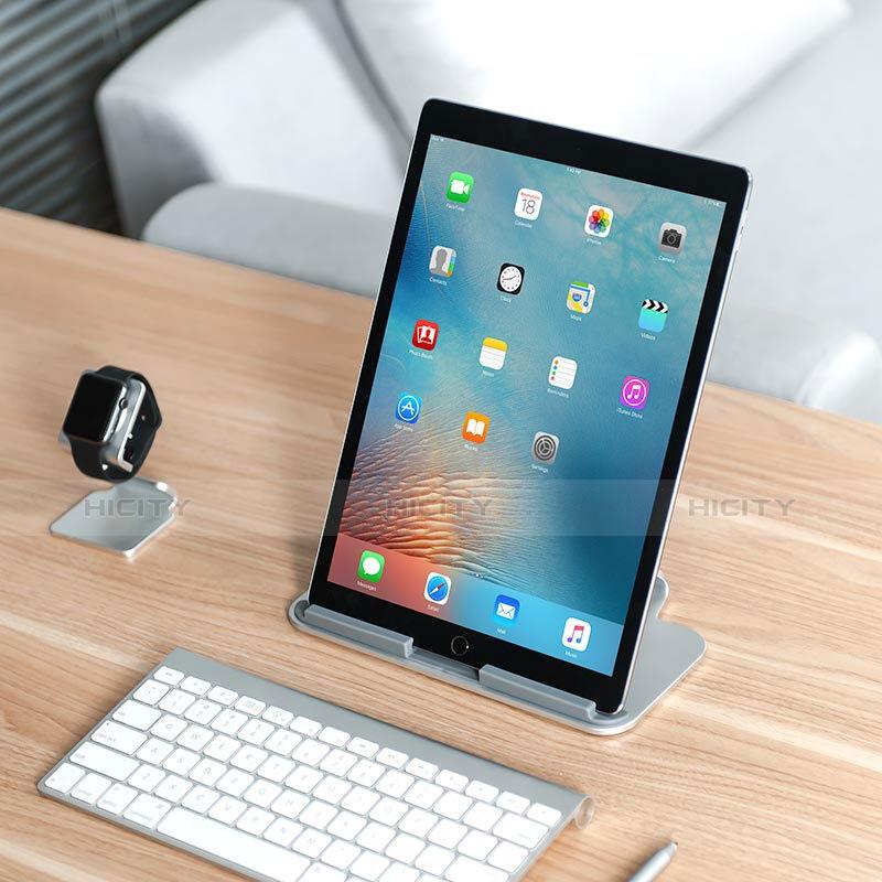 Apple iPad 2用スタンドタイプのタブレット ホルダー ユニバーサル T25 アップル シルバー