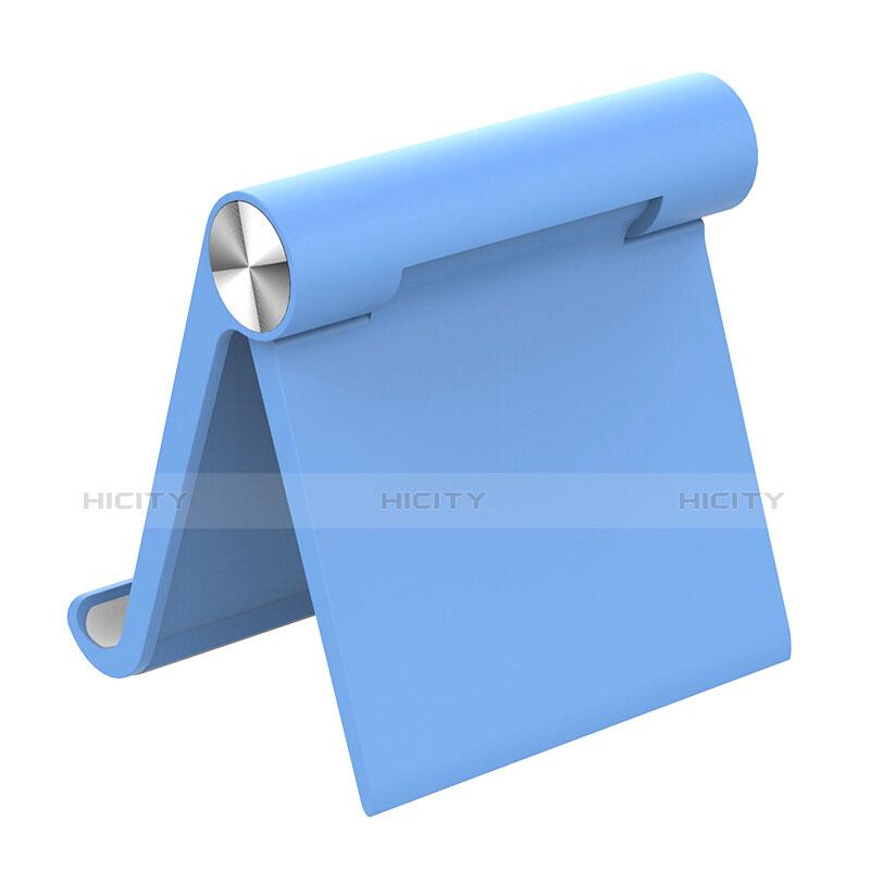 Apple iPad 2用スタンドタイプのタブレット ホルダー ユニバーサル T28 アップル ブルー