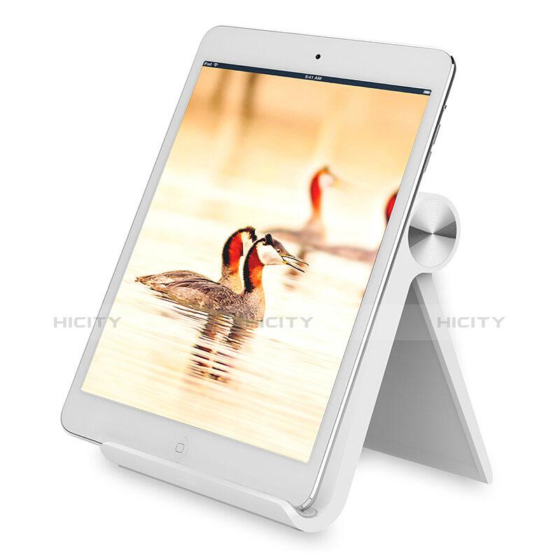 Apple iPad 2用スタンドタイプのタブレット ホルダー ユニバーサル T28 アップル ホワイト