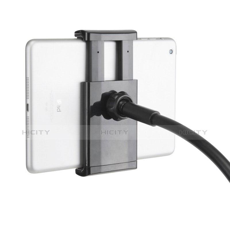 Apple iPad 2用スタンドタイプのタブレット クリップ式 フレキシブル仕様 T31 アップル ブラック