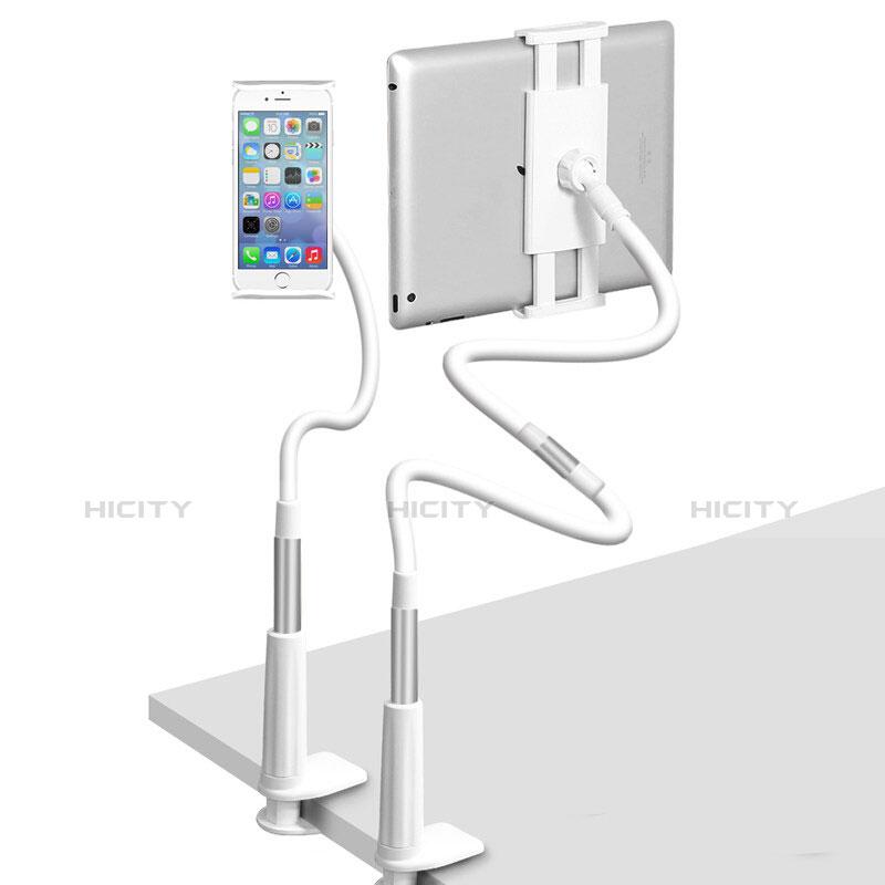 Apple iPad 2用スタンドタイプのタブレット クリップ式 フレキシブル仕様 T33 アップル シルバー