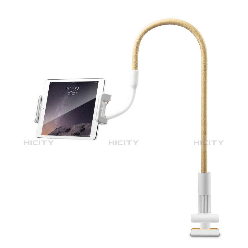 Apple iPad 2用スタンドタイプのタブレット クリップ式 フレキシブル仕様 T34 アップル イエロー