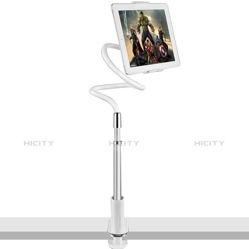 Apple iPad 2用スタンドタイプのタブレット クリップ式 フレキシブル仕様 T36 アップル シルバー