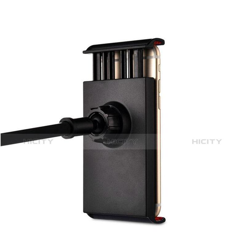 Apple iPad 2用スタンドタイプのタブレット クリップ式 フレキシブル仕様 T42 アップル ブラック