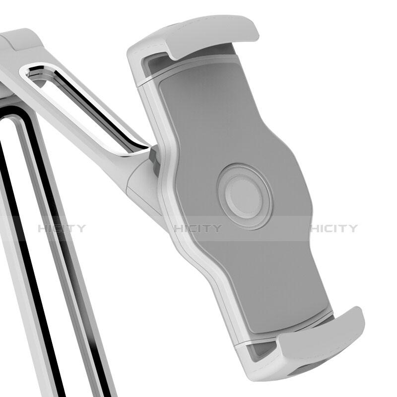 Apple iPad 2用スタンドタイプのタブレット クリップ式 フレキシブル仕様 T43 アップル シルバー