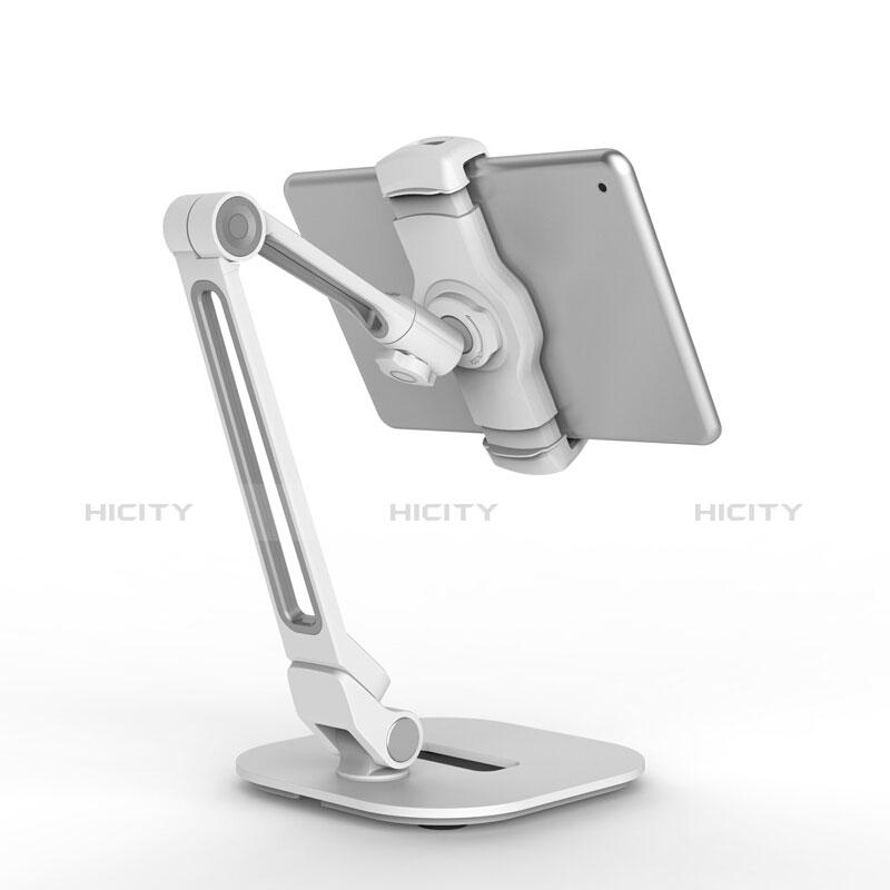 Apple iPad 2用スタンドタイプのタブレット クリップ式 フレキシブル仕様 T44 アップル シルバー