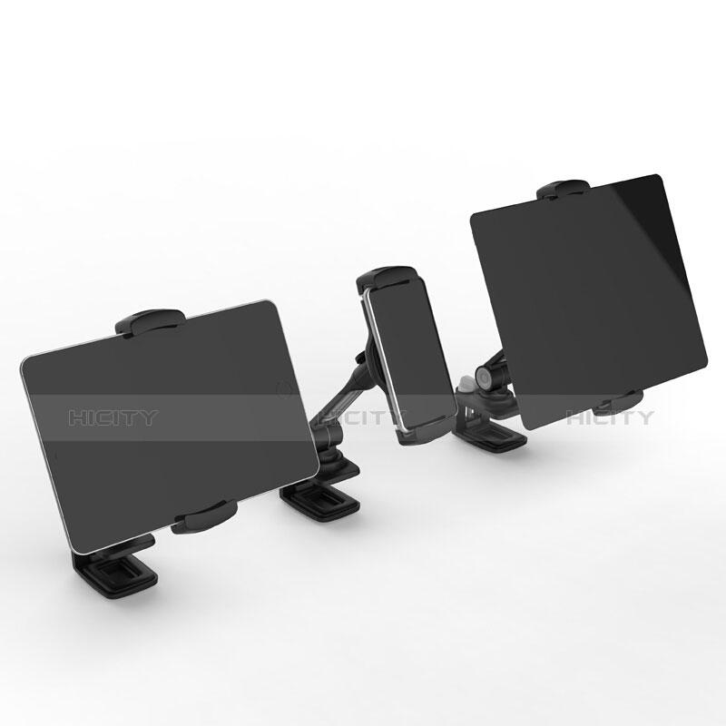 Apple iPad 2用スタンドタイプのタブレット クリップ式 フレキシブル仕様 T45 アップル ブラック