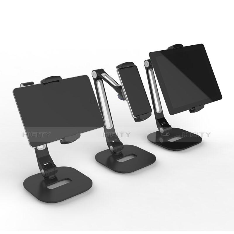 Apple iPad 2用スタンドタイプのタブレット クリップ式 フレキシブル仕様 T46 アップル ブラック