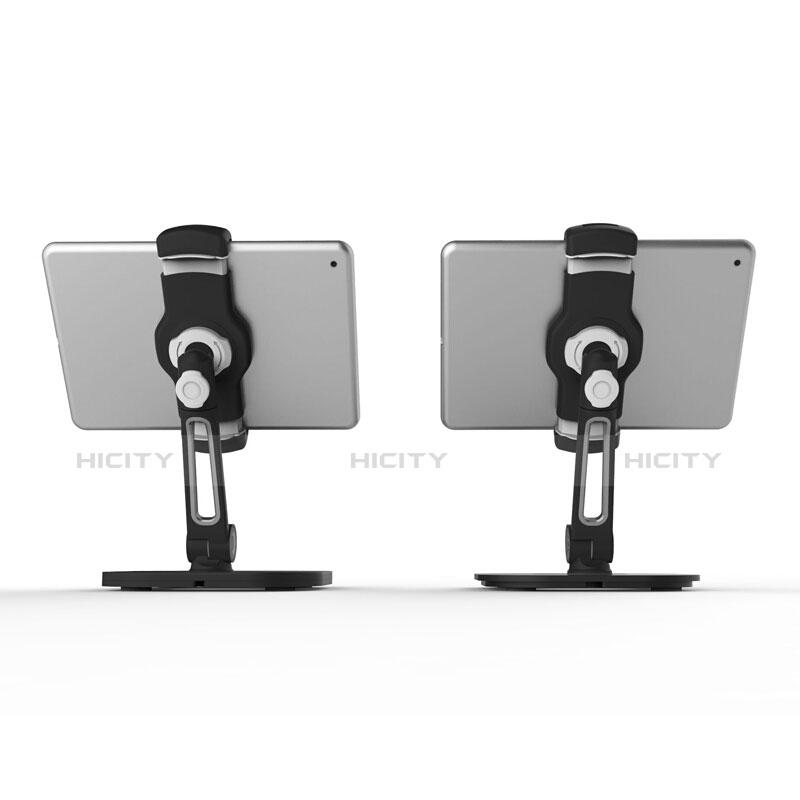 Apple iPad 2用スタンドタイプのタブレット クリップ式 フレキシブル仕様 T47 アップル ブラック