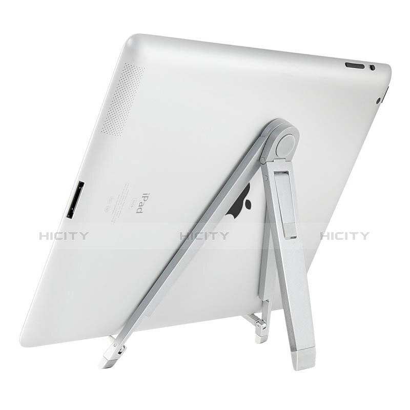 Apple iPad 3用スタンドタイプのタブレット ホルダー ユニバーサル アップル シルバー