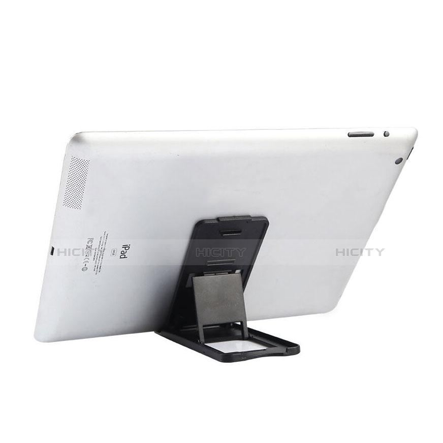 Apple iPad 3用スタンドタイプのタブレット ホルダー ユニバーサル T21 アップル ブラック