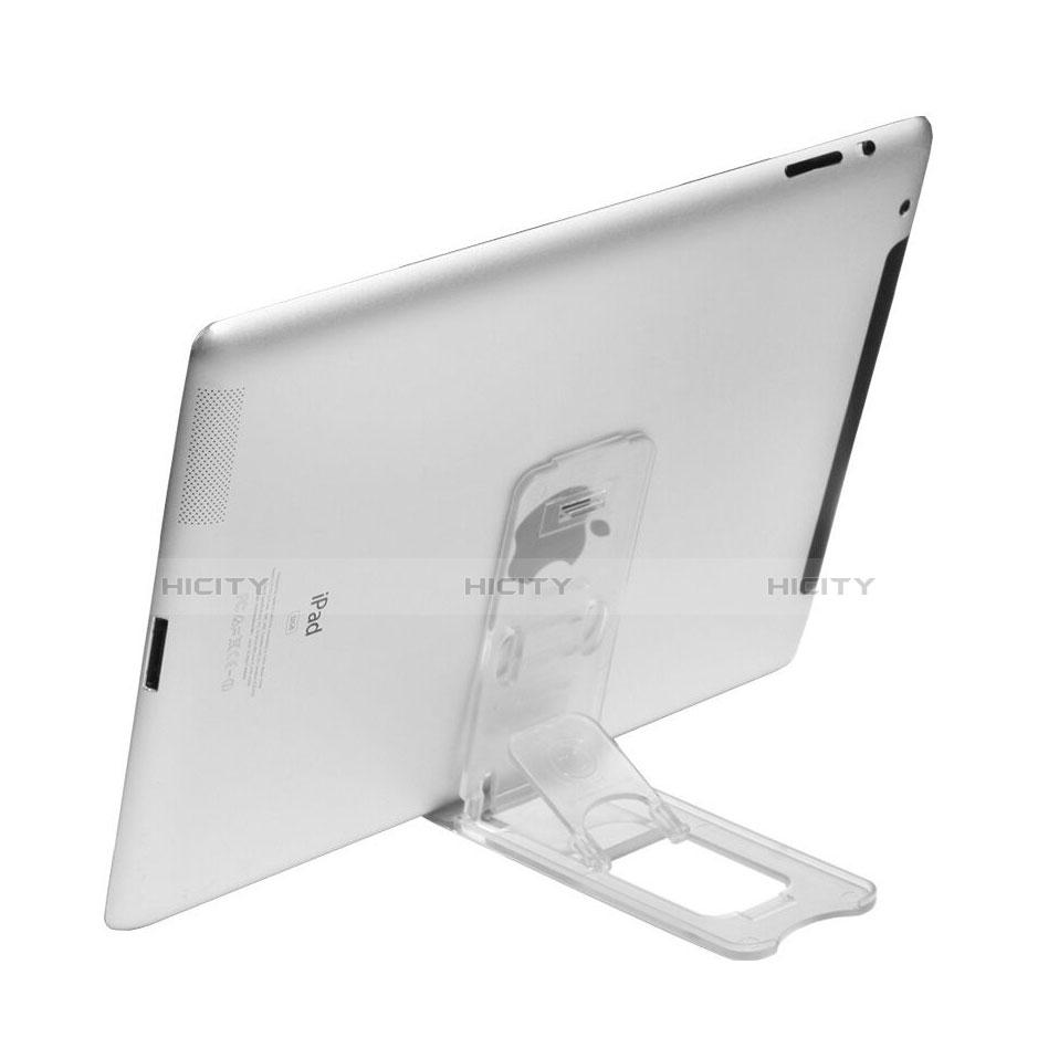 Apple iPad 3用スタンドタイプのタブレット ホルダー ユニバーサル T22 アップル クリア