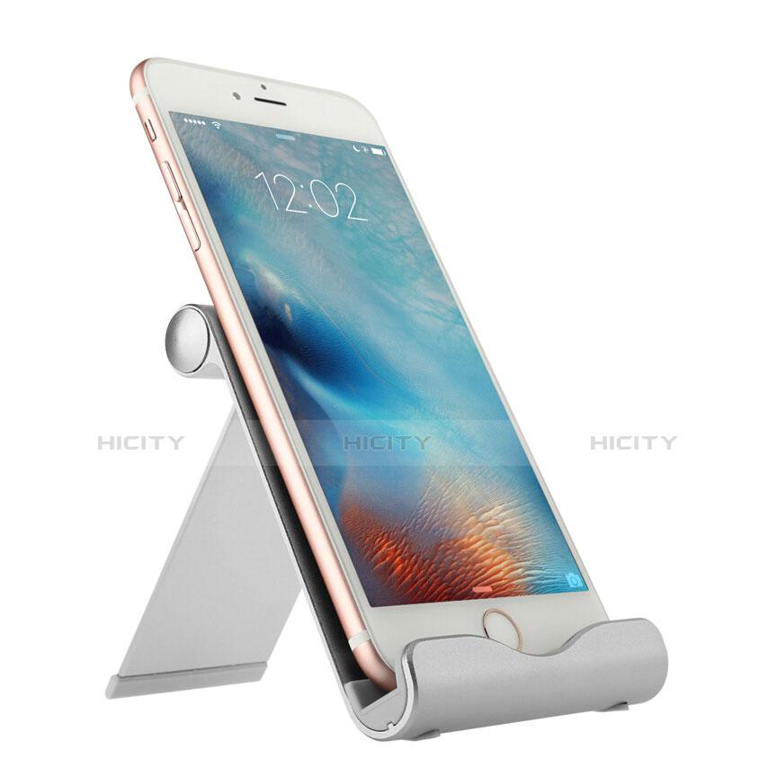 Apple iPad 3用スタンドタイプのタブレット ホルダー ユニバーサル T27 アップル シルバー