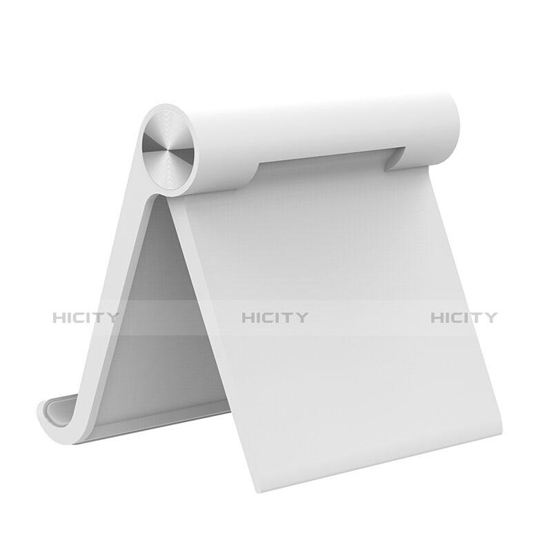 Apple iPad 3用スタンドタイプのタブレット ホルダー ユニバーサル T28 アップル ホワイト