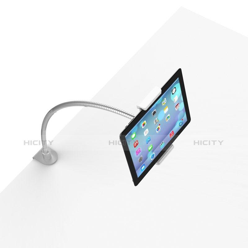 Apple iPad 3用スタンドタイプのタブレット クリップ式 フレキシブル仕様 T37 アップル ホワイト