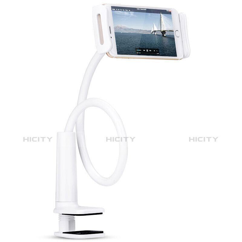 Apple iPad 3用スタンドタイプのタブレット クリップ式 フレキシブル仕様 T38 アップル ホワイト