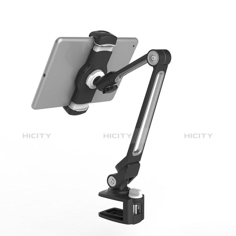 Apple iPad 3用スタンドタイプのタブレット クリップ式 フレキシブル仕様 T43 アップル ブラック