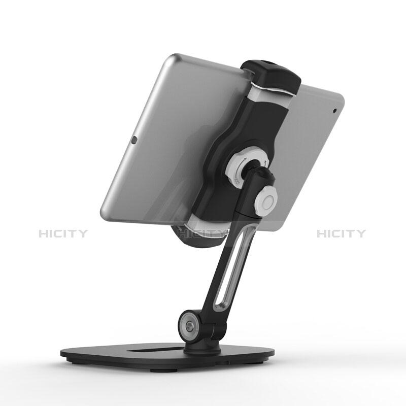 Apple iPad 3用スタンドタイプのタブレット クリップ式 フレキシブル仕様 T47 アップル ブラック