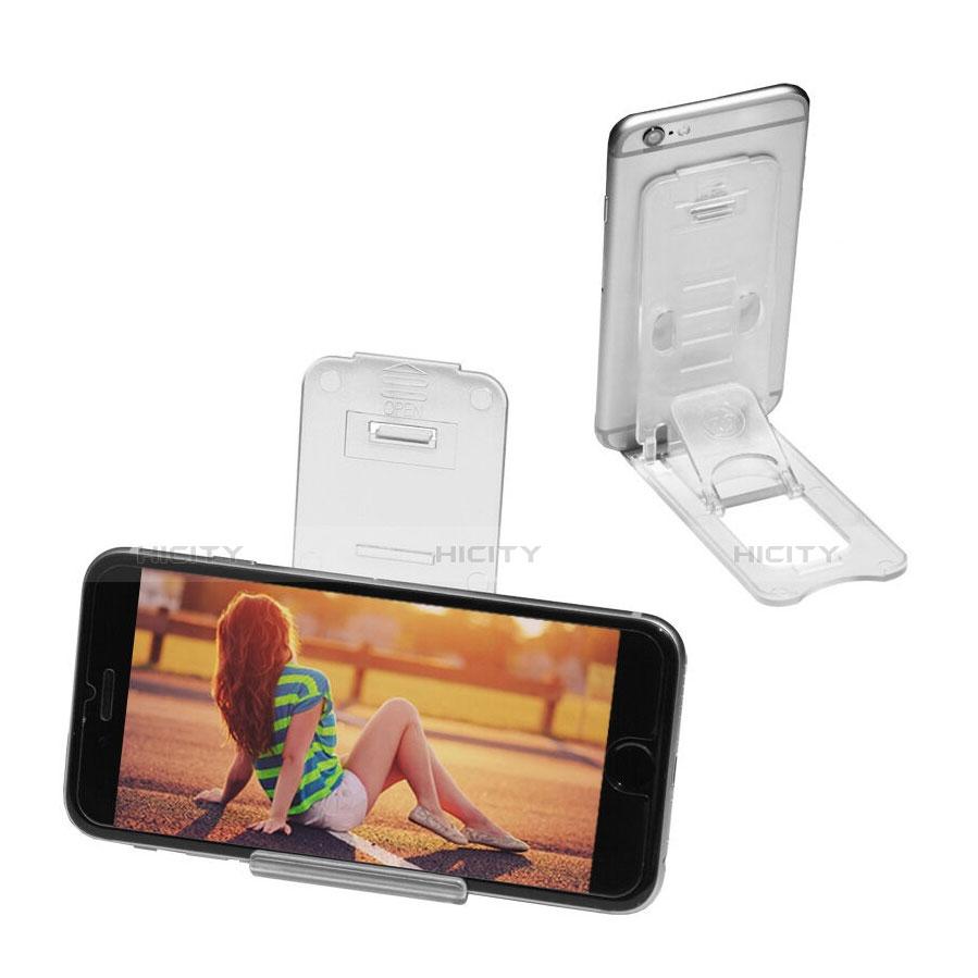 Apple iPad 4用スタンドタイプのタブレット ホルダー ユニバーサル T22 アップル クリア