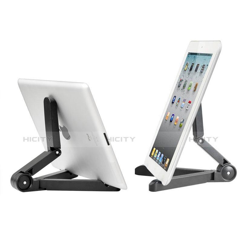 Apple iPad 4用スタンドタイプのタブレット ホルダー ユニバーサル T23 アップル ブラック