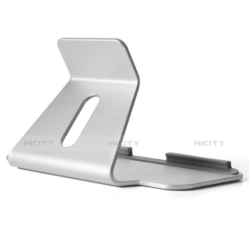 Apple iPad 4用スタンドタイプのタブレット ホルダー ユニバーサル T25 アップル シルバー