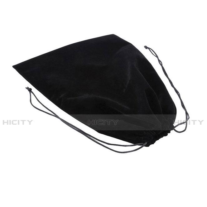 Apple iPad Mini 2用高品質ソフトベルベットポーチバッグ ケース アップル ブラック
