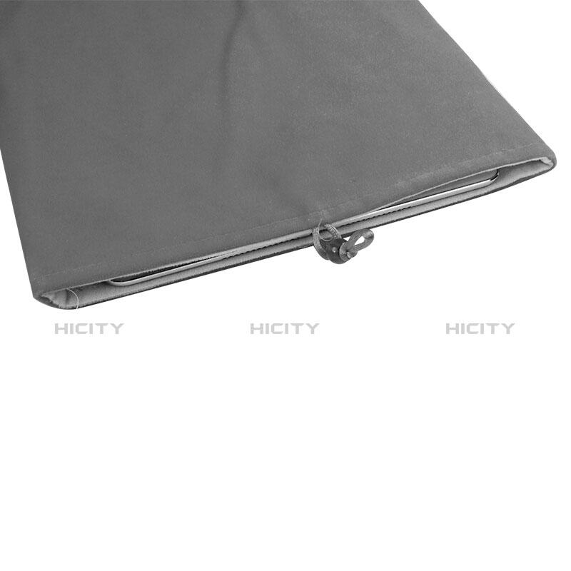 Apple iPad Mini 4用ソフトベルベットポーチバッグ ケース アップル グレー