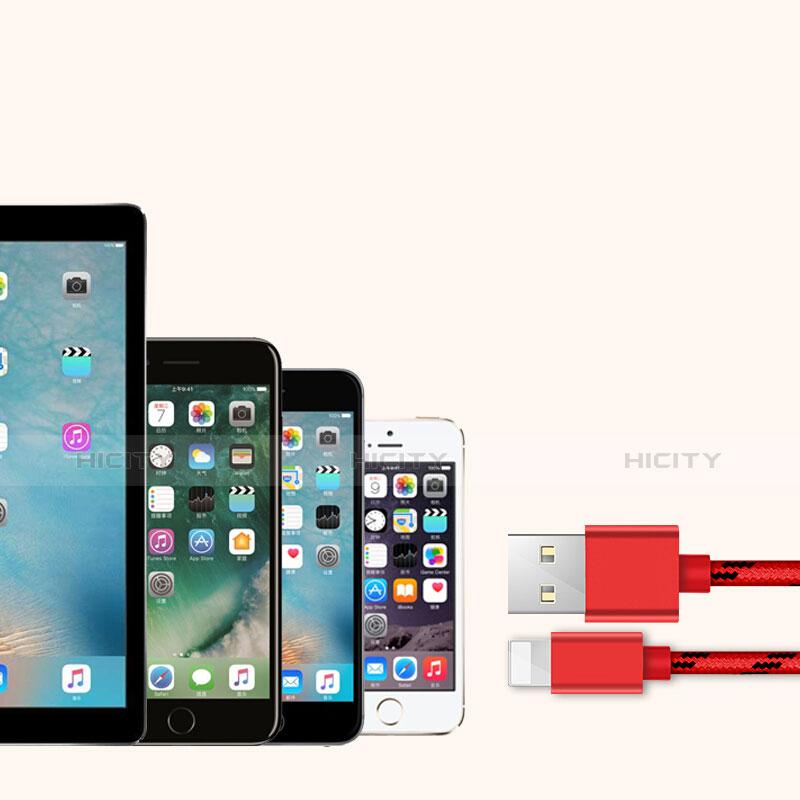 Apple iPad New Air (2019) 10.5用USBケーブル 充電ケーブル L05 アップル レッド