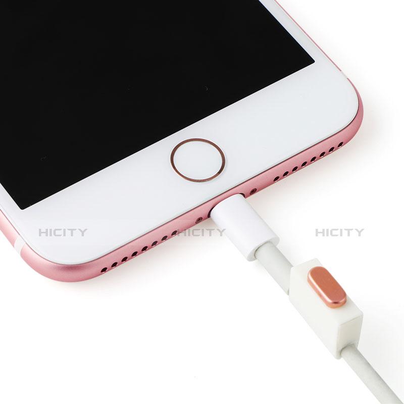 Apple iPad New Air (2019) 10.5用アンチ ダスト プラグ キャップ ストッパー Lightning USB J07 アップル レッド