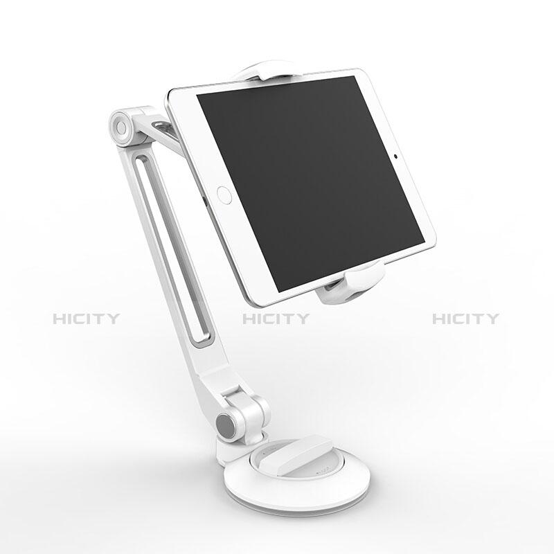 Apple iPad Pro 11 (2020)用スタンドタイプのタブレット クリップ式 フレキシブル仕様 H04 アップル ホワイト