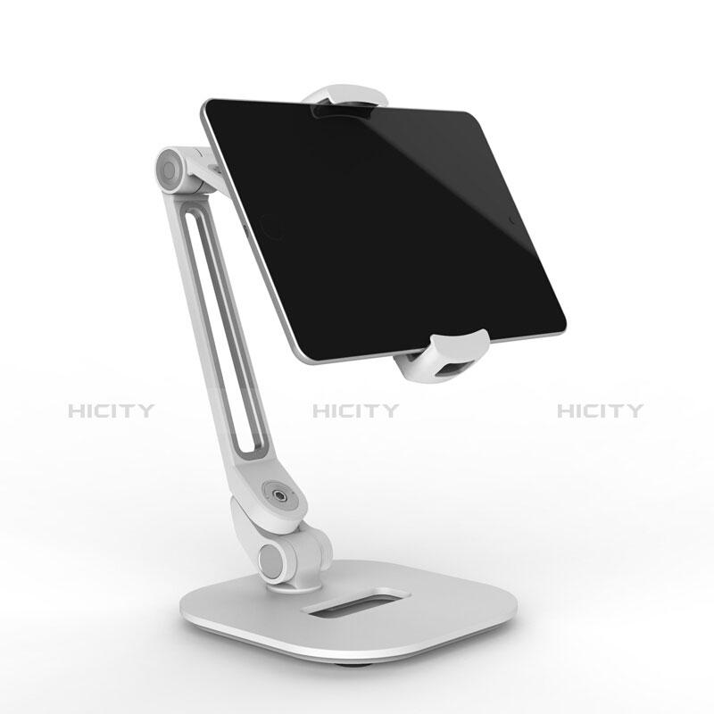 Apple iPad Pro 12.9 (2020)用スタンドタイプのタブレット クリップ式 フレキシブル仕様 T44 アップル シルバー