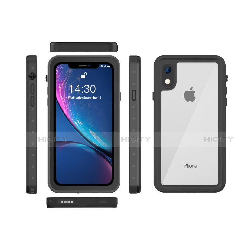 Apple iPhone XR用完全防水ケース ハイブリットバンパーカバー 高級感 手触り良い 360度 W01 アップル