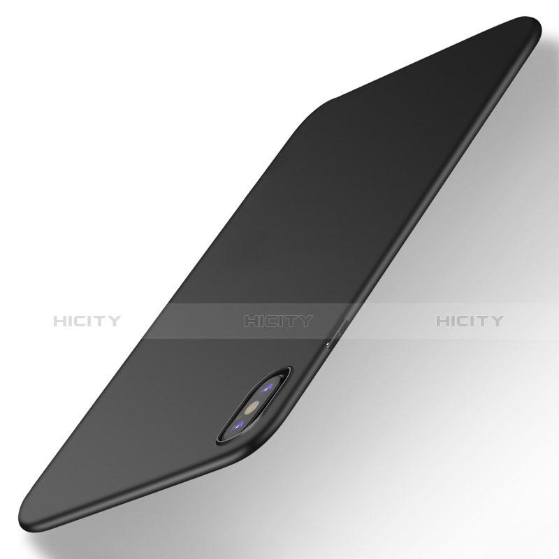 Apple iPhone Xs Max用極薄ソフトケース シリコンケース 耐衝撃 全面保護 S16 アップル ブラック