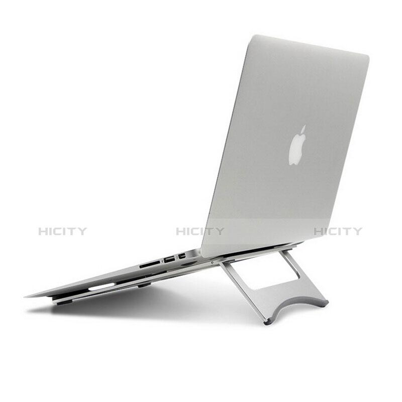 Apple MacBook 12 インチ用ノートブックホルダー ラップトップスタンド アップル シルバー