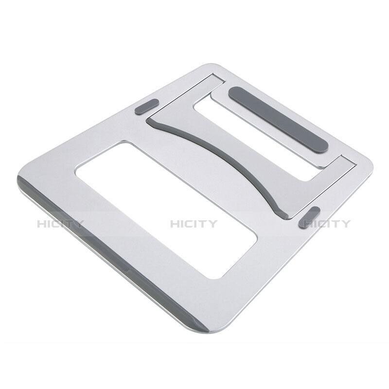 Apple MacBook Pro 13 インチ用ノートブックホルダー ラップトップスタンド アップル シルバー