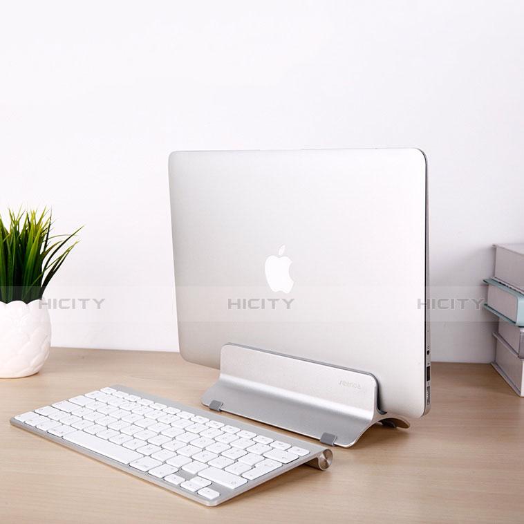 Apple MacBook Pro 15 インチ Retina用ノートブックホルダー ラップトップスタンド S01 アップル シルバー