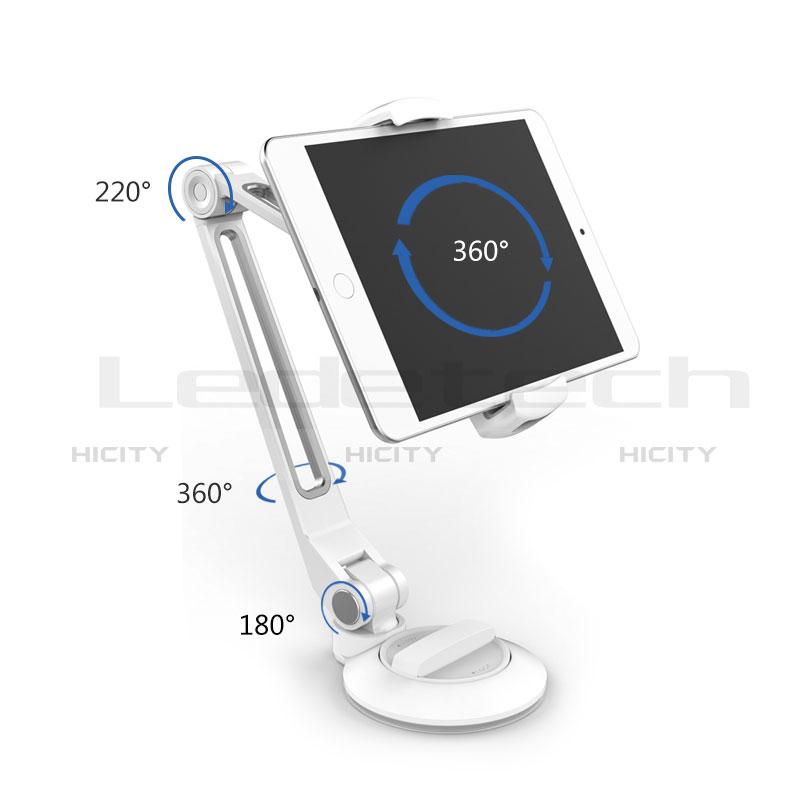 Apple New iPad 9.7 (2018)用スタンドタイプのタブレット クリップ式 フレキシブル仕様 H04 アップル