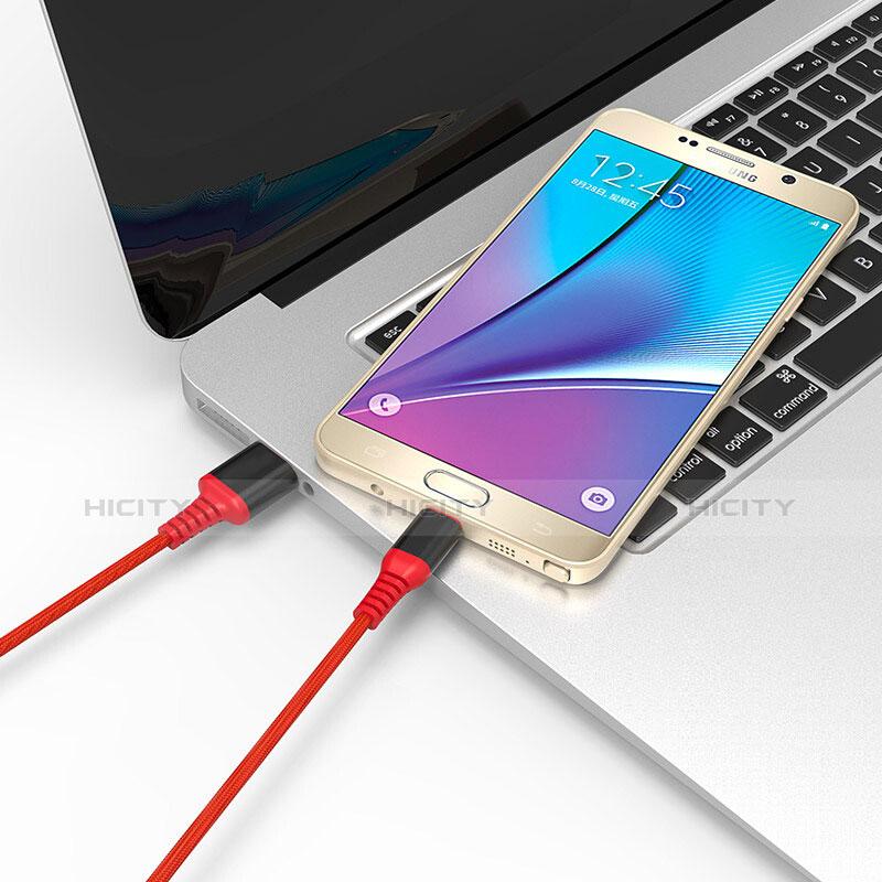 USB 2.0ケーブル 充電ケーブルAndroidユニバーサル A06 レッド