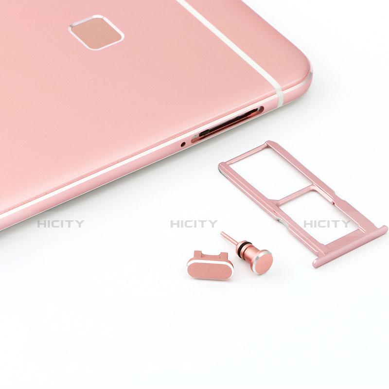 アンチ ダスト プラグ キャップ ストッパー USB Androidユニバーサル C02 シルバー
